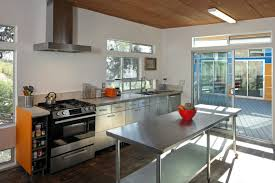 stainless steel island for kitchen brilliant stainless steel kitchen island throughout modern