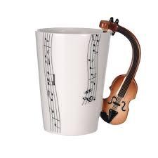 unique music note design coffee mug violin mugs u2013 reflex bargain