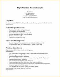 experienced resume sample flight attendant resume sample flight attendant resume sample