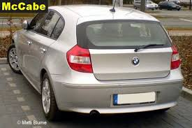 bmw 1 series roof bars bmw 1 series hatch 2005 to 2012 roof rack system mccabe the