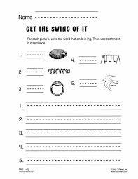 ing free phonics worksheet consonant blends u0026 digraphs