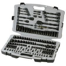 home depot black friday socket sets husky chrome mechanics tool set 149 piece tools pinterest