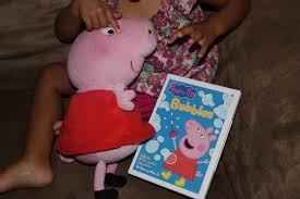 stocking stuffer idea peppa pig bubbles dvd review frugality
