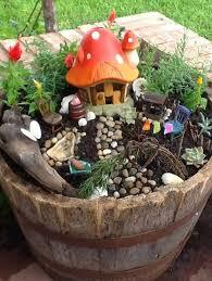 wheel barrel garden we got the idea and began collecting