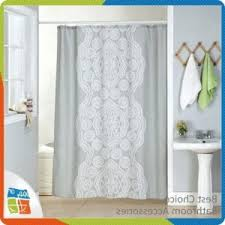 84 Inch Long Shower Curtains Curtain Extra Long Fabric Shower Curtain Foter With Shower