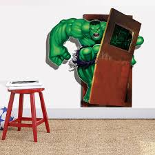 marvel the avengers hulk wall sticker decals boys room 2 for 20