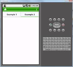tutorial android menu bar android how to build tabs like the ones show on android ui page