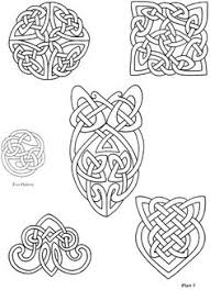 90 celtic coloring pages irish scottish gaelic celtic knots