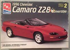 1996 convertible camaro amt 1 25 scale 1996 chevrolet camaro z28 convertible model car kit