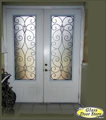 glass door tampa catalina bronze powder coated wrought iron glass door the glass