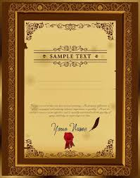 certificate free vector download 813 free vector for commercial