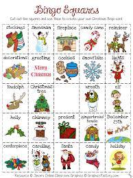 christmas create your own luck bingo freebie kindergartenklub