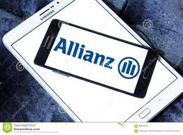allianz siege allianz insurance logo editorial image image of phone 88929405