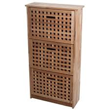 shoe cabinet light brown wood shoe storage closet storage
