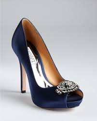 wedding shoes navy blue can t decide on my blue wedding shoes pic heavy