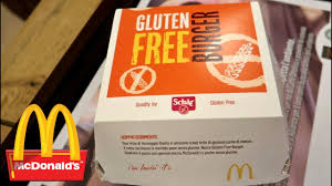 mcdonald u0027s gluten free burger taste test youtube