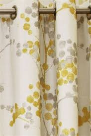 Yellow And Gray Window Curtains Spacious Elissia Yellow Grey 276341 Home Design Ideas Y G