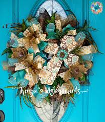 118 best and summer swags deco mesh wreaths images on