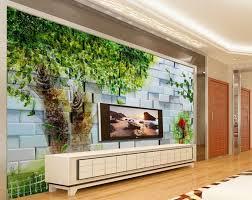 custom 3d wall murals hand painted big tree beautiful 3d