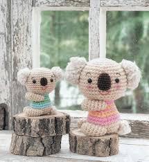 free japanese craft patterns koala bears amigurumi soft toy free