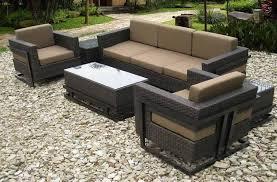 Sunbrella Patio Chairs by Plastic Rattan Garden Furniture Aralsa Com