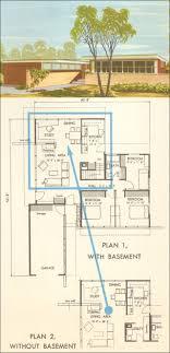 mid century ranch floor plans mid century ranch house plans modern design floor soiaya