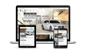 lexus middle east website 4spots wins w3 award for lexus bahrain website
