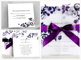 purple wedding invitations invitations bundle wedding invitations purple wedding