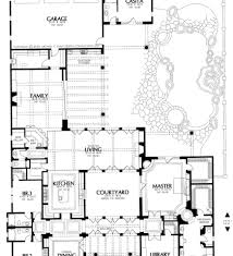 Spanish Style Homes Plans Plans Spanish Style Home Plans With Courtyards Courtyard Style
