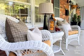 Chairs For Front Porch 25 Fall Front Porch Ideas You Have To See A Blissful Nest