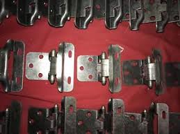 3 8 overlay partial wrap cabinet hinges 10 pair 20 hinges partial wrap self closing cabinet hings 3 8