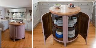 Kitchens Island Small Circular Movable Kitchen Island Table