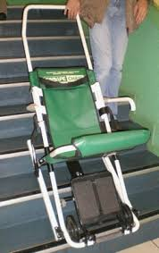 siege pour handicapé chaise d évacuation escape fabriquée par escape mobility company