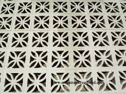Decorative Concrete Screen Block – Part 2