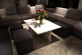 idea coffee table simple yet clever coffee table design with integrated chairs