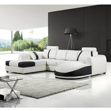 modern white leather sofa bed sleeper tourdecarroll com