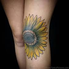 65 impressive sunflower tattoos