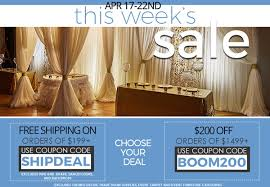 Event Direct Decor Event Decor Direct Weekly Specials Choose Free Shipping Or
