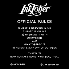the inktober initiative mr jake parker