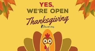 thanksgiving hours the pawsh