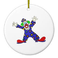 circus clown ornaments u0026 keepsake ornaments zazzle