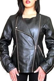 womens leather jacket 3 in 1 lambskin for 159 99