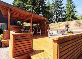 cedar vs composite decks despite trendy substitutes wood is