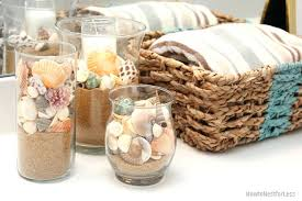 Seashell Bathroom Decor Ideas Seashell Bathroom Decor Wall With Shells Bathroom Decorating
