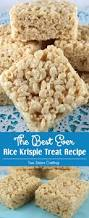 the best ever rice krispie treat recipe two sisters crafting
