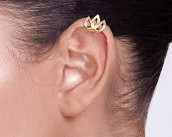 gold ear cuffs gold ear cuff etsy