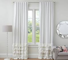 White Ruffle Curtains White Ruffle Curtains 96 Inch Best Curtains 2017 Intended For