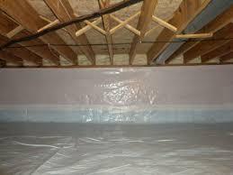 spray foam insulation and white cap crawl space encapsulation
