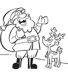 christmas coloring pages kids reindeer christmas coloring