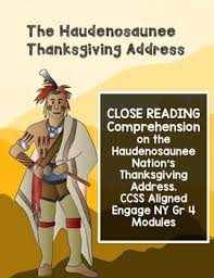 haudenosaunee thanksgiving address by and students tpt